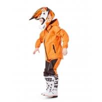 Детский комплект дождевой (куртка, брюки). EVO Kids ORANGE (мембрана)