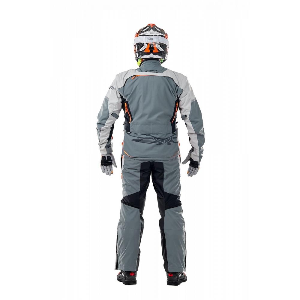 Куртка Эндуро Freeride DF Grey-Orange