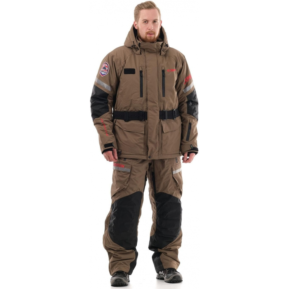 Куртка EXPEDITION Brown-Red 2020
