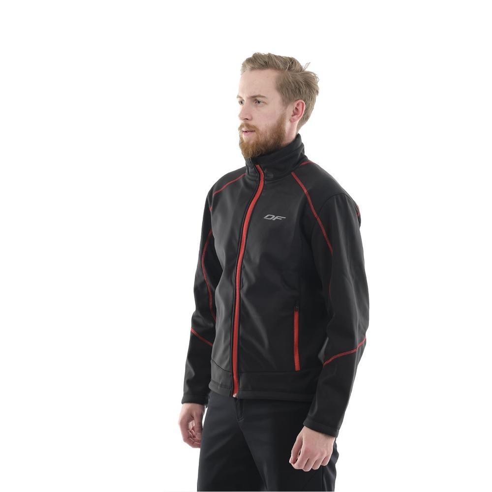 Куртка Explorer Black-Red мужская, Softshell
