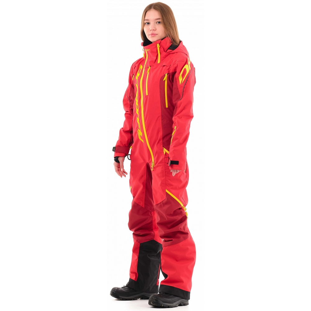 Комбинезон Extreme Woman Red-Yellow 2021