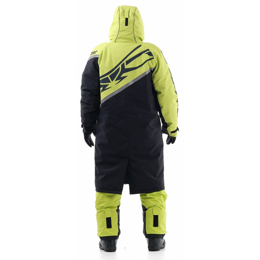 Плащ зимний RACE COAT Yellow 2020