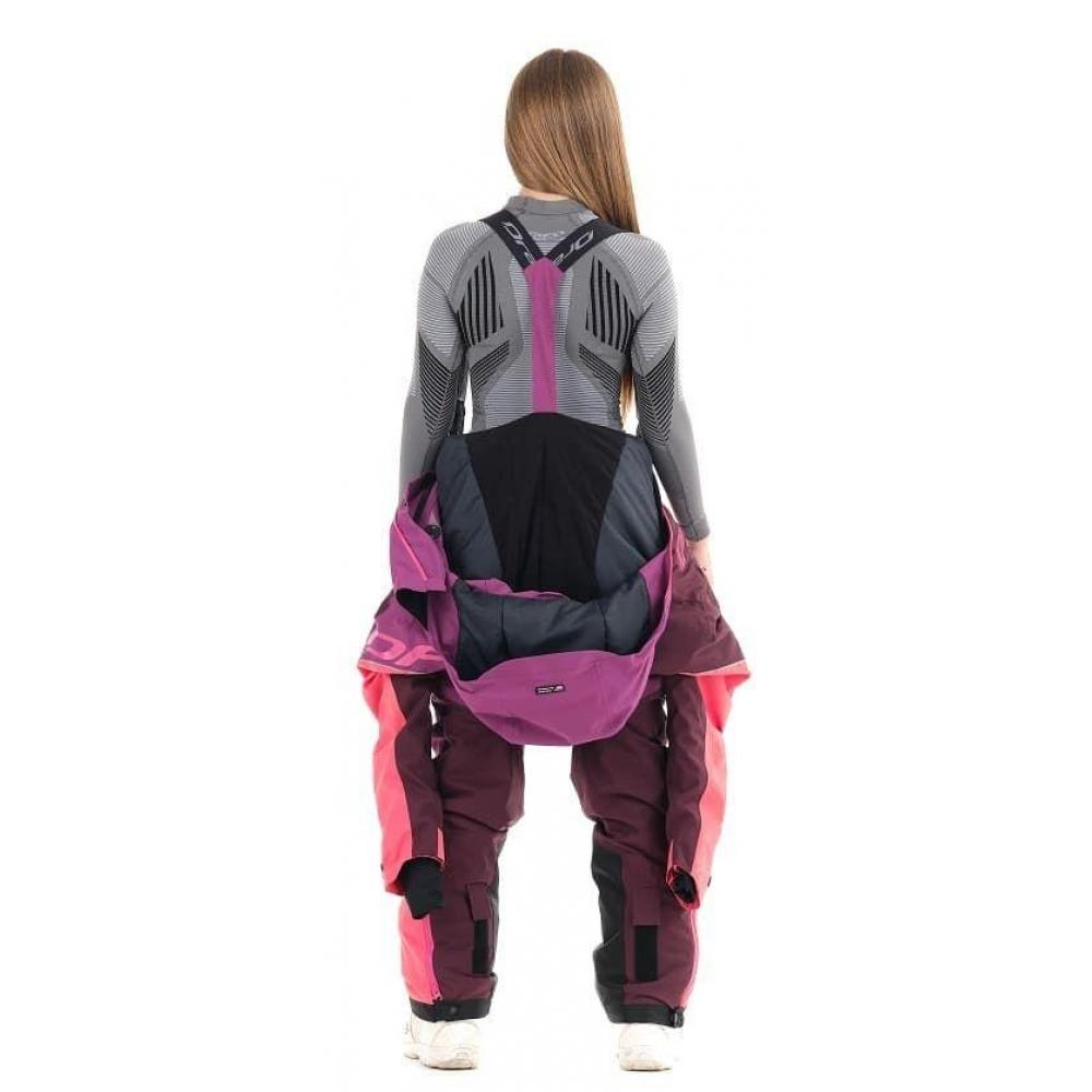 Комбинезон SKI Premium WOMAN PURPLE&BROWN 2020