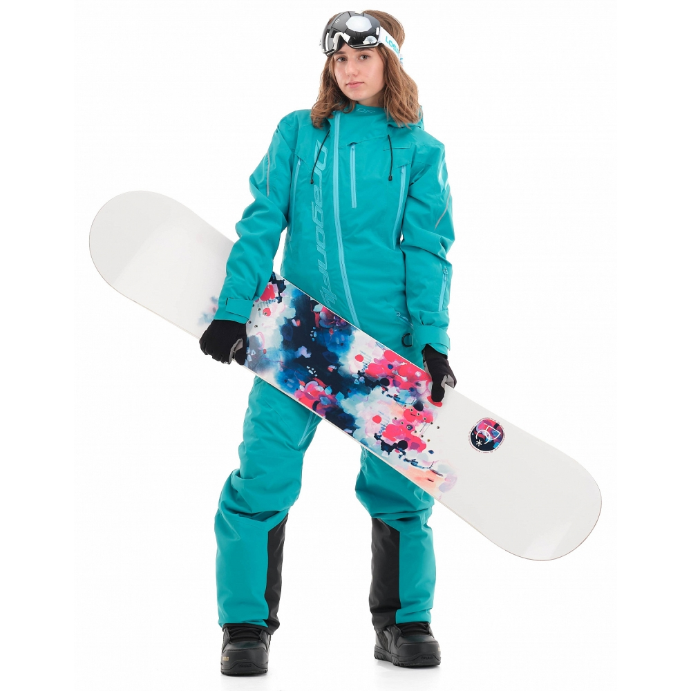 Комбинезон утепленный Gravity Premium WOMAN Baltic Blue