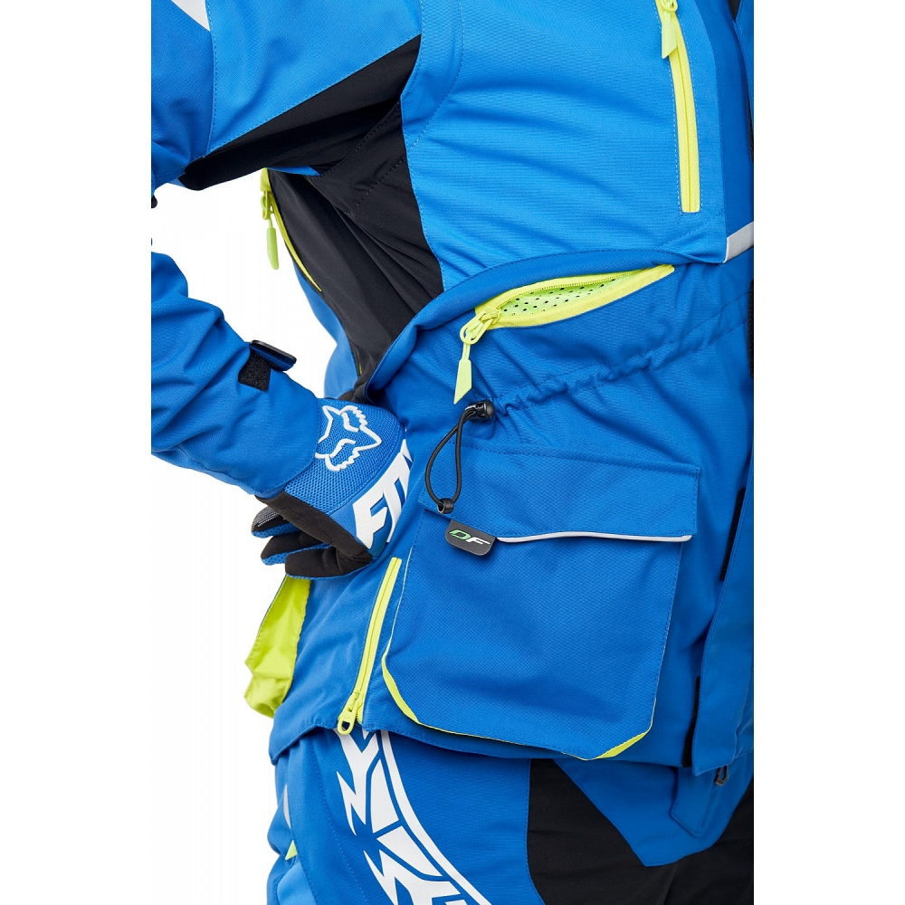 Куртка Эндуро Freeride DF Blue-Yellow
