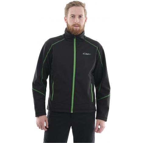 Куртка Explorer Black-Green мужская, Softshell