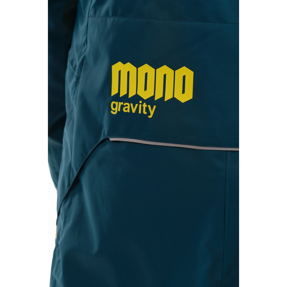 Комбинезон Gravity MONO MAN Dark Ocean-Yellow