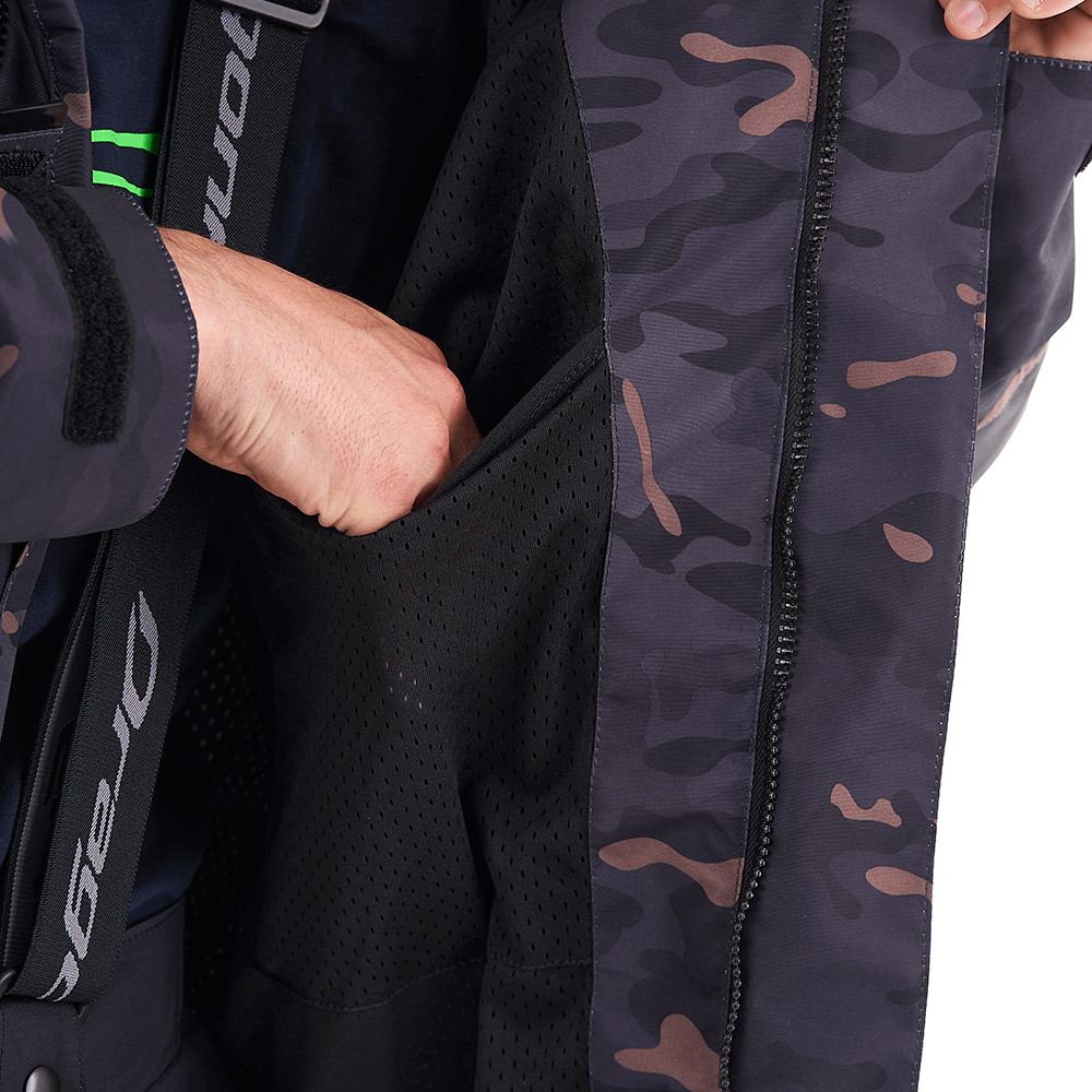 Мембранная куртка QUAD 2.0 CAMO-Gray