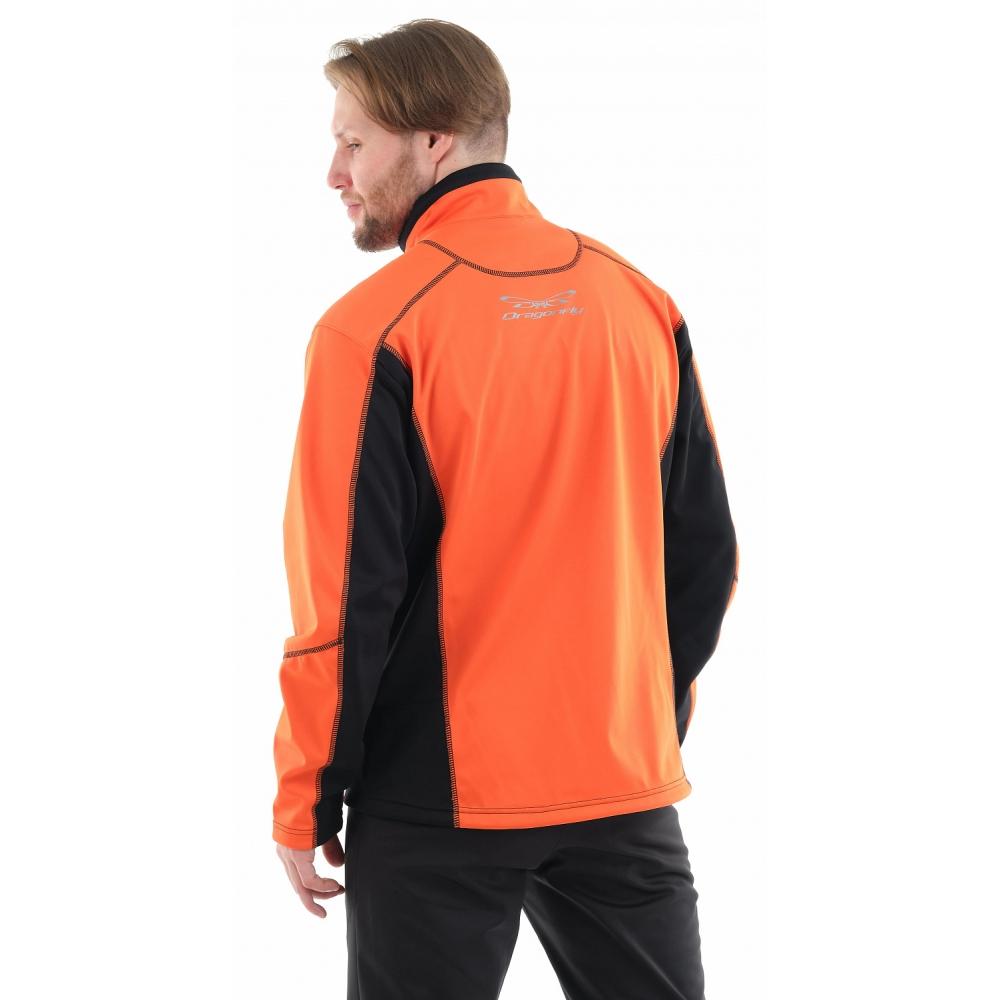 Куртка Explorer Black-Orange мужская, Softshell