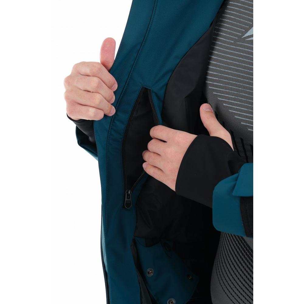 Куртка горнолыжная утепленная Gravity Premium MAN Dark Ocean
