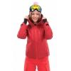 Куртка горнолыжная утепленная Gravity Premium WOMAN Maroon-Red
