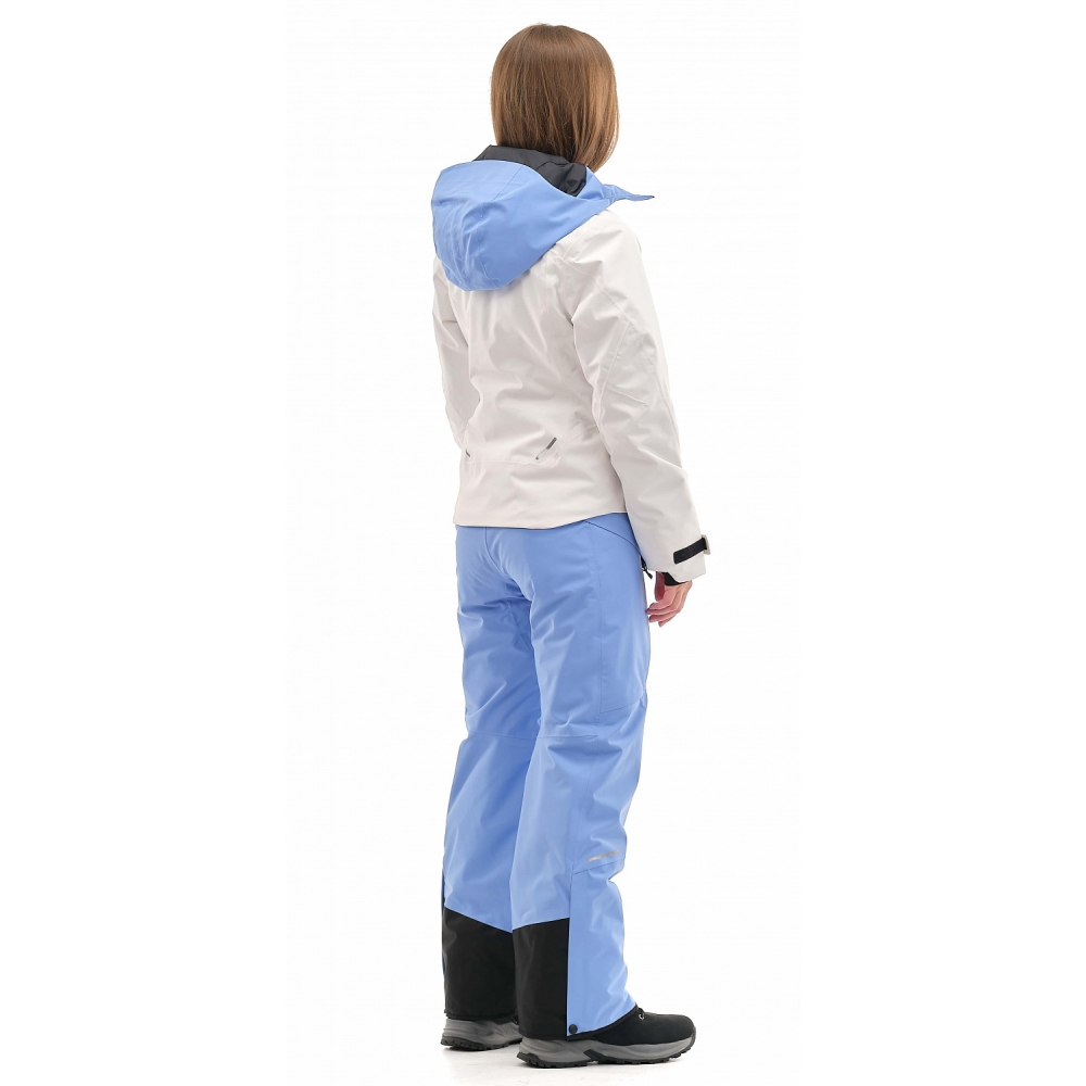 Куртка горнолыжная утепленная Gravity Premium WOMAN Gray-Blue