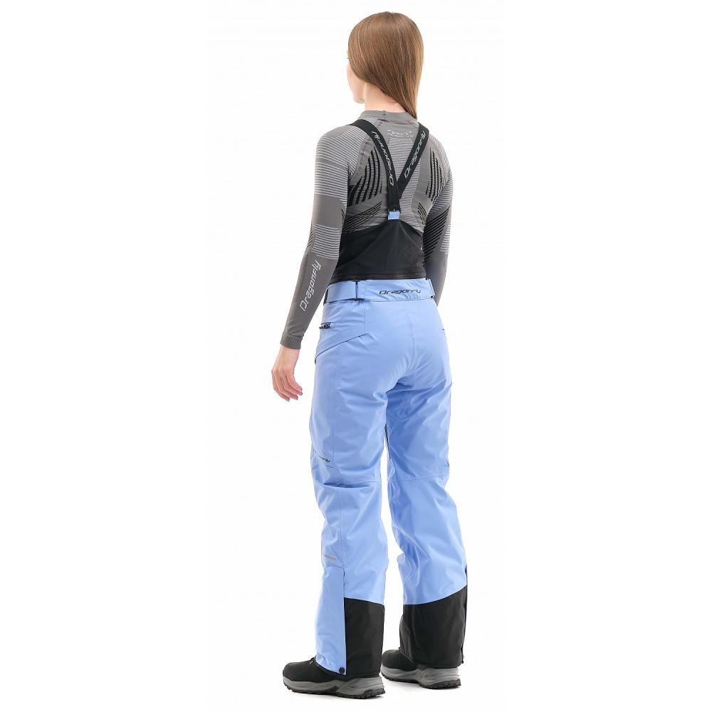Штаны горнолыжные утепленные Gravity Premium WOMAN Gray-Blue