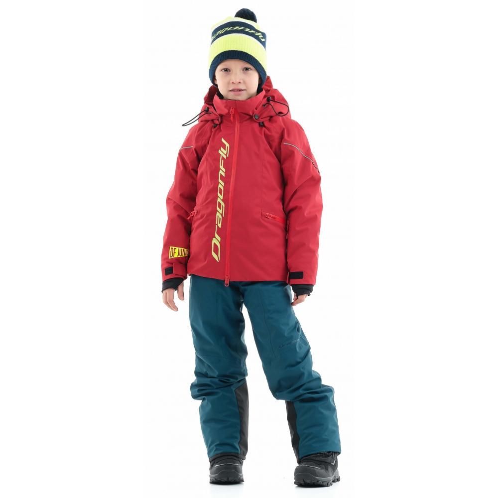 Куртка утепленная Gravity Junior Dark Red - Yellow