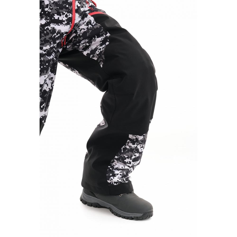 Комбинезон Extreme MAN Camo-Black. Утепленный.